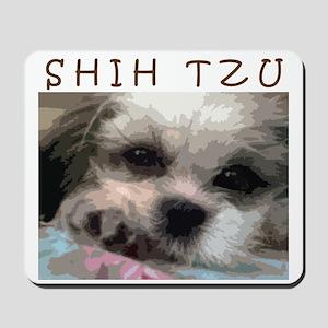 Shih Tzu Pop Art Matilda Mousepad