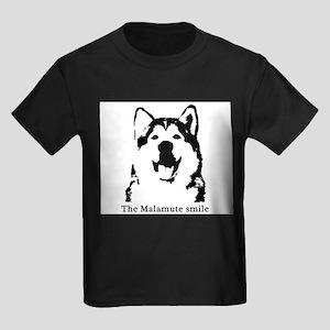 The Malamute Smile Kids Dark T-Shirt