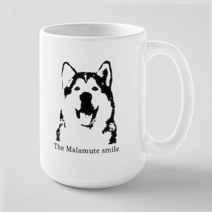 The Malamute Smile Large Mug