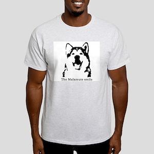 The Malamute Smile Light T-Shirt