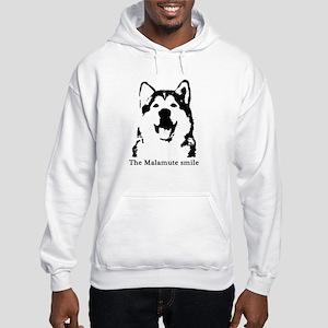 The Malamute Smile Hooded Sweatshirt
