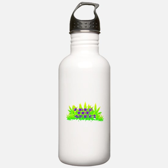Free The Seed! Water Bottle