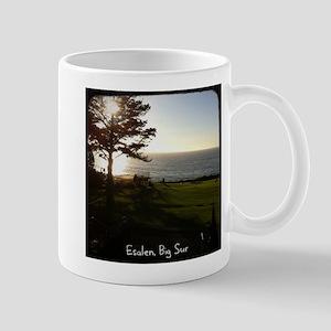 Front lawn at Esalen, Big Sur Mug