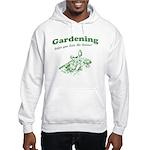 Gardening Helps Hooded Sweatshirt