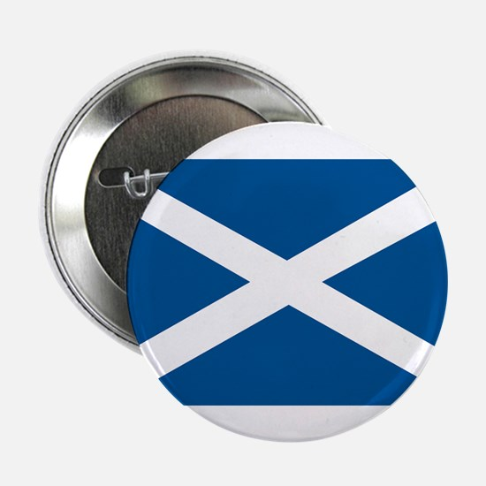"Scotland Flag, Scottish Flag 2.25"" Button (10 pack"