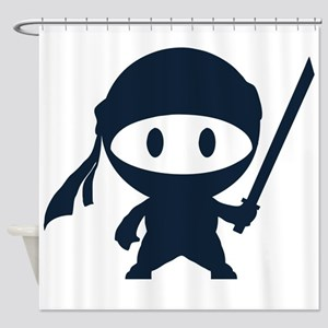 Ninja Shower Curtain