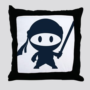 Ninja Throw Pillow