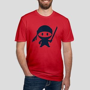 Ninja Men's Fitted T-Shirt (dark)