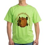 Gaelic Harvest Pumpkin Green T-Shirt
