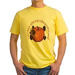 Gaelic Harvest Pumpkin Yellow T-Shirt
