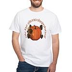 Gaelic Harvest Pumpkin White T-Shirt