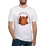 Gaelic Harvest Pumpkin Fitted T-Shirt