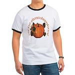Gaelic Harvest Pumpkin Ringer T