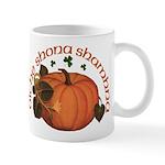 Gaelic Harvest Pumpkin Mug