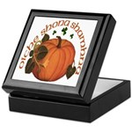 Gaelic Harvest Pumpkin Keepsake Box