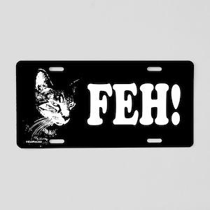 Pookie Feh! Aluminum License Plate
