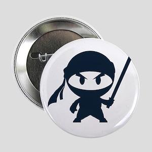"""Angry ninja 2.25"""" Button (10 pack)"""