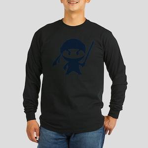 Angry ninja Long Sleeve Dark T-Shirt