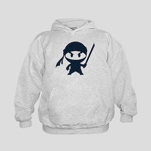Angry ninja Kids Hoodie