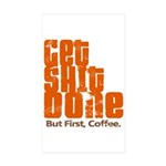Get Shit Done Sticker (Rectangle 50 pk)