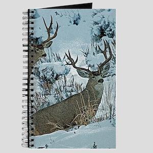 Bucks in snow 2 Journal
