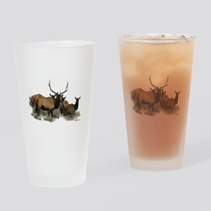 Bull elk Pint Glass