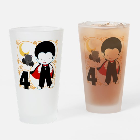 Boys Halloween 4 Drinking Glass