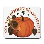 Gaelic Harvest Pumpkin Mousepad
