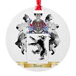 Abear Round Ornament
