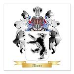 Abear Square Car Magnet 3