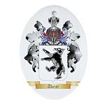 Abear Ornament (Oval)