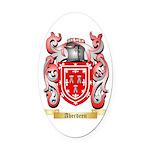 Aberdeen Oval Car Magnet