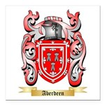 Aberdeen Square Car Magnet 3