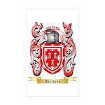 Aberdeen Sticker (Rectangle 10 pk)