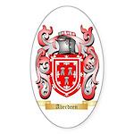 Aberdeen Sticker (Oval 10 pk)