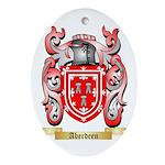 Aberdeen Ornament (Oval)