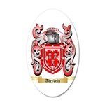 Aberdein 20x12 Oval Wall Decal