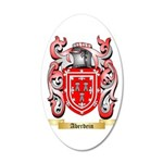 Aberdein 35x21 Oval Wall Decal
