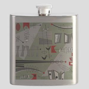Mid-Century Modern Design Flask