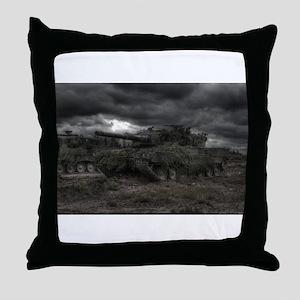 Armored Storm Throw Pillow