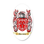 Aberrdein Oval Car Magnet