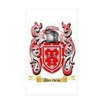 Aberrdein Sticker (Rectangle 50 pk)