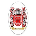 Aberrdein Sticker (Oval 50 pk)