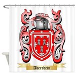 Aberrdein Shower Curtain