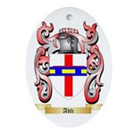 Abli Ornament (Oval)