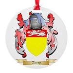 Abney Round Ornament