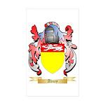 Abney Sticker (Rectangle 50 pk)