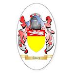 Abney Sticker (Oval 50 pk)