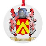 Abotson Round Ornament