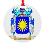 Abraham Round Ornament